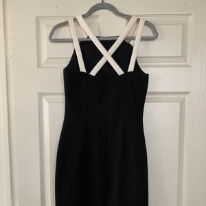 Classic and Sexy Black and White Ralph LaurenDress